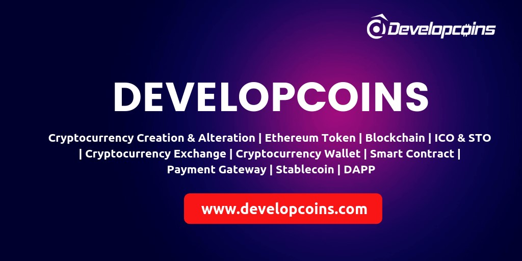 second hand/new: ERC20 Token Development Company | Developcoins