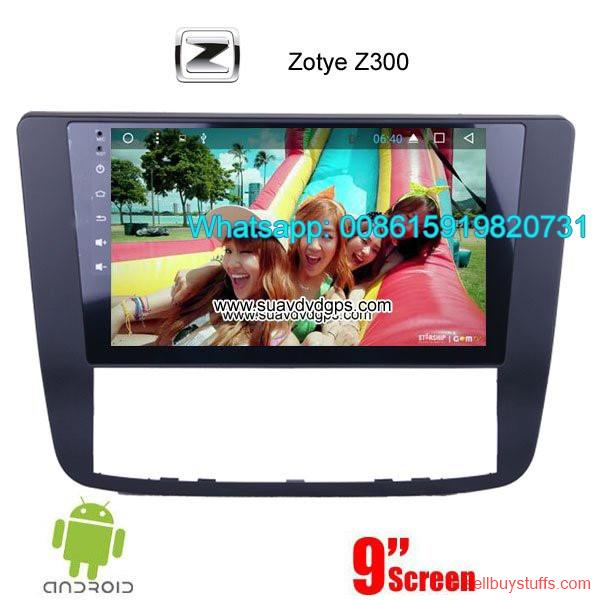 second hand/new: Zotye Z300 Car audio radio update android GPS navigation camera