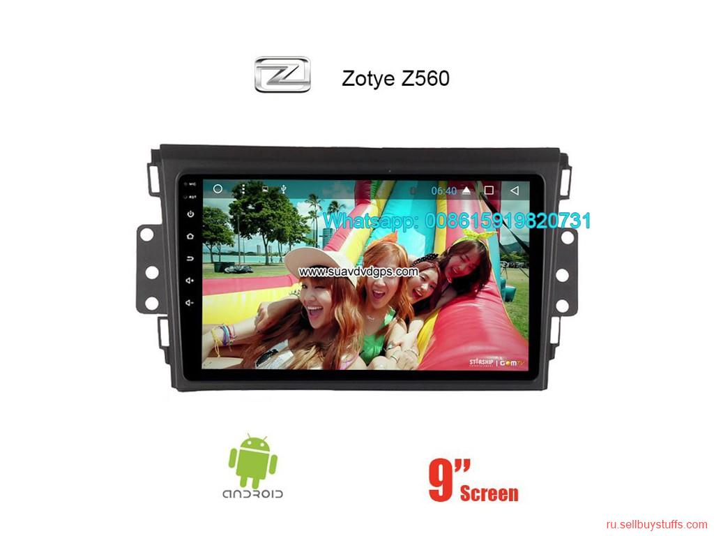 second hand/new: Zotye Z560 Car radio Video android GPS navigation camera